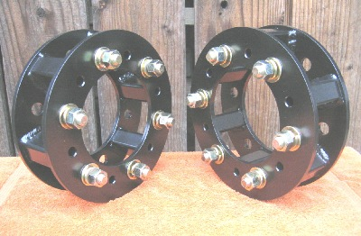 6 Bolt Wheel Spacers Kubota B Series, Kubota L Series, John Deere, Cub Cadet, 6 Bolt on 6""