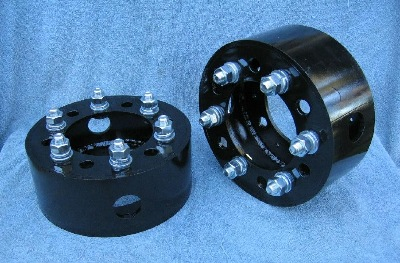 Typical 6 bolt pattern Drum Wheel Spacers